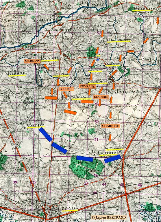 Plan Bourg Sainte Ville Gemme La Plaine