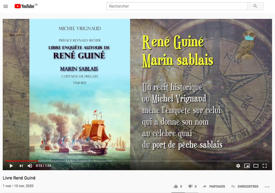 Présentation livre René Guiné