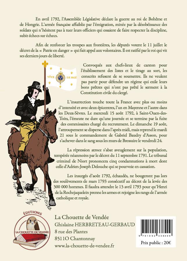 Août 1792, Les Préludes aux Guerres de Vendée