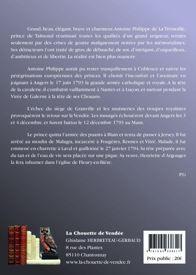 PRÉ-COMMANDE : Prince de Talmond
