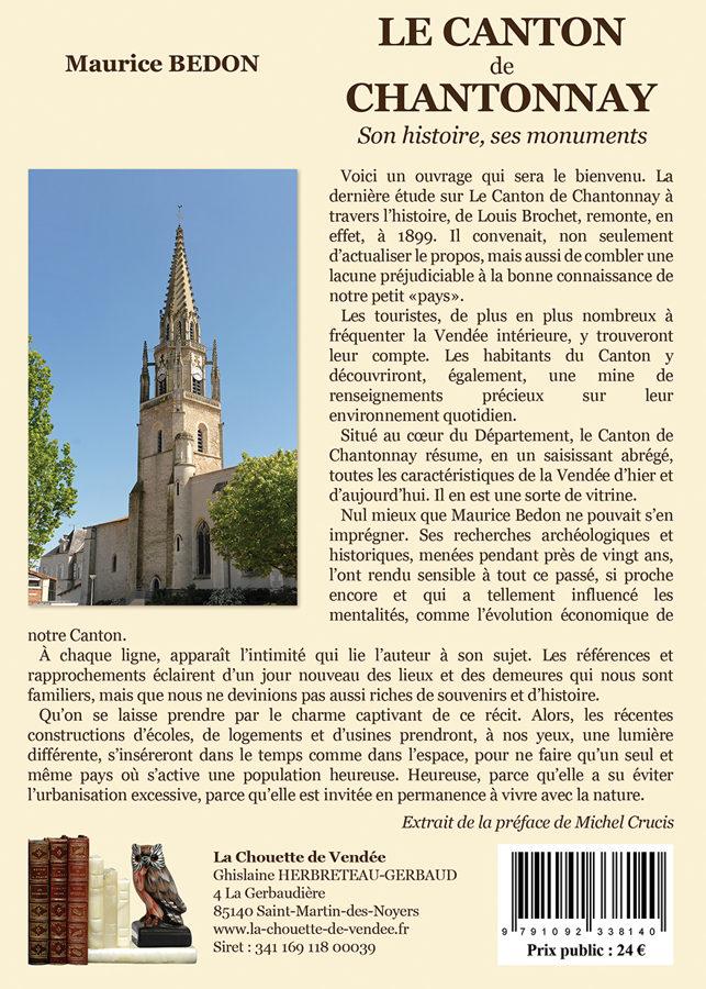 Le Canton de Chantonnay Tome I et II