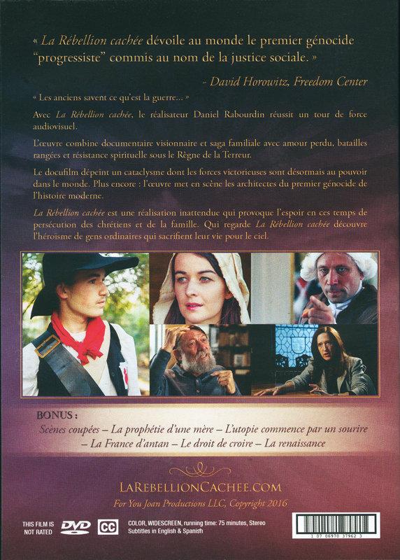 DVD + Livre : La Rébellion Cachée