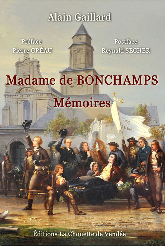 Madame de BONCHAMPS + AUGUSTIN DEHARGUES + LOUIS DOMINIQUE USSSAULT
