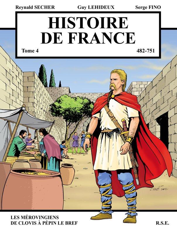 Histoire de France : les Mérovingiens, de Clovis à Pépin le Bref