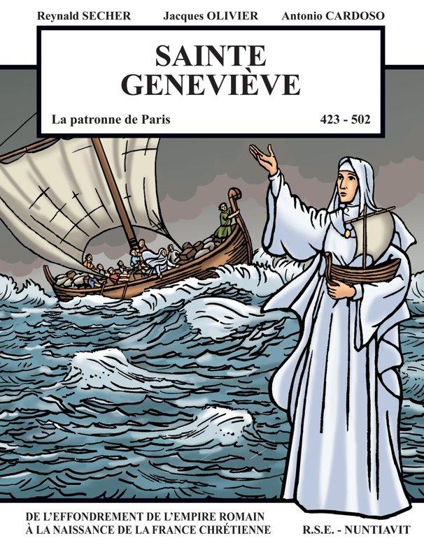 Sainte Geneviève : de l'effondrement romain à la naissance de la France chrétienne