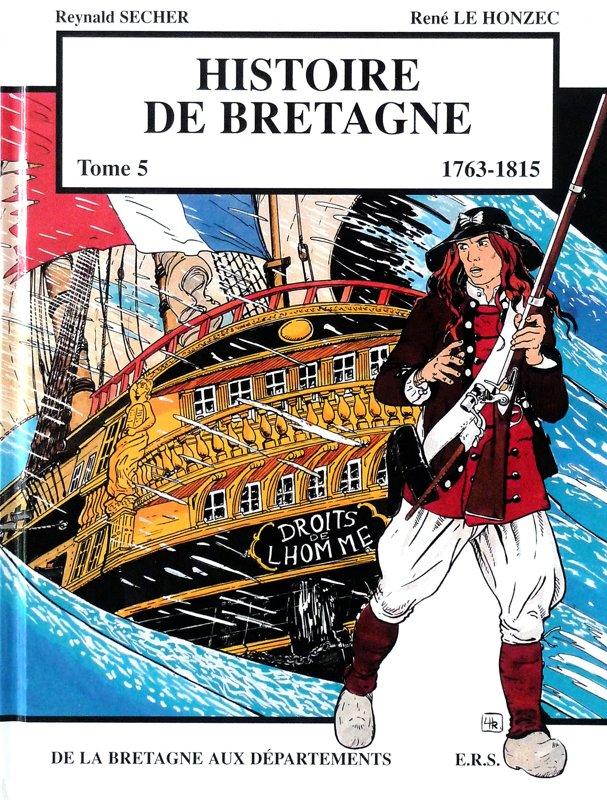 Histoire de Bretagne : de la Bretagne aux Départements