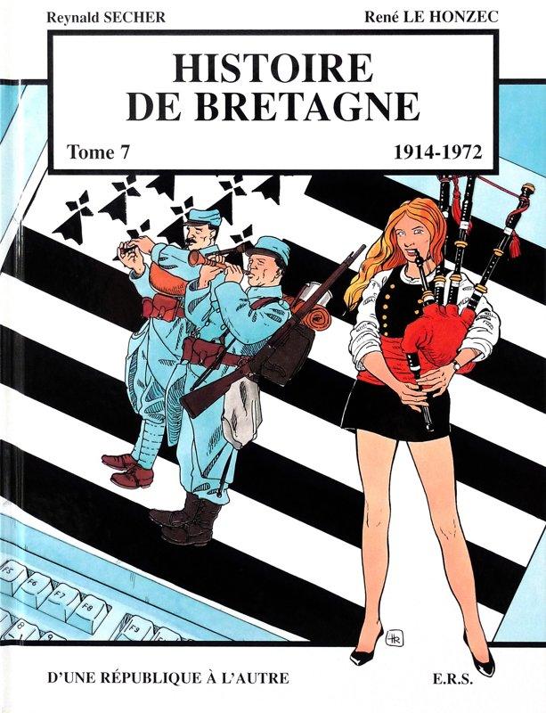 Histoire de Bretagne : de la Région à l'Europe