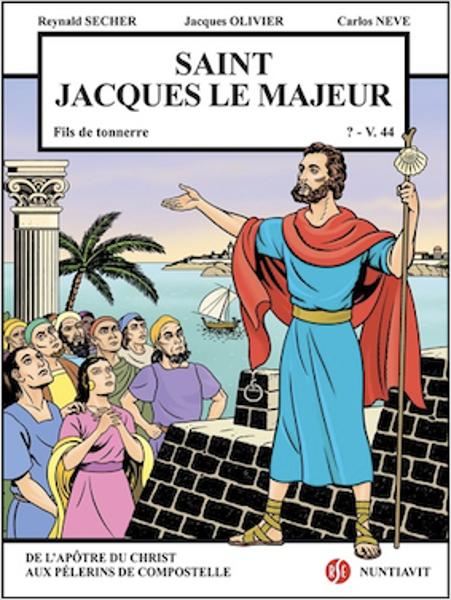 """Saint Jacques le Majeur """"Fils de tonnerre ?-v.44"""""""
