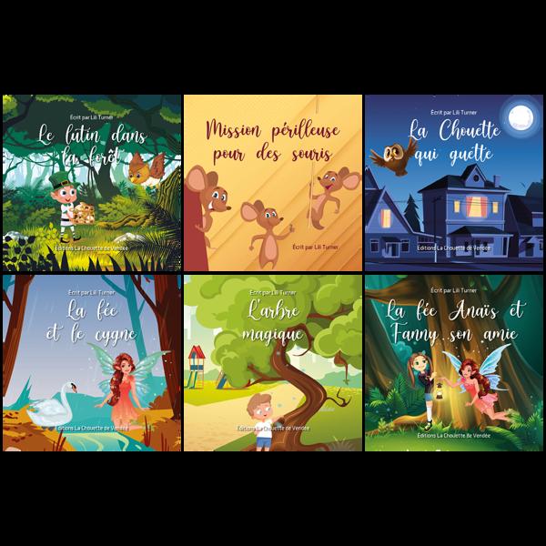 Collection des petits livres de Lili Turner