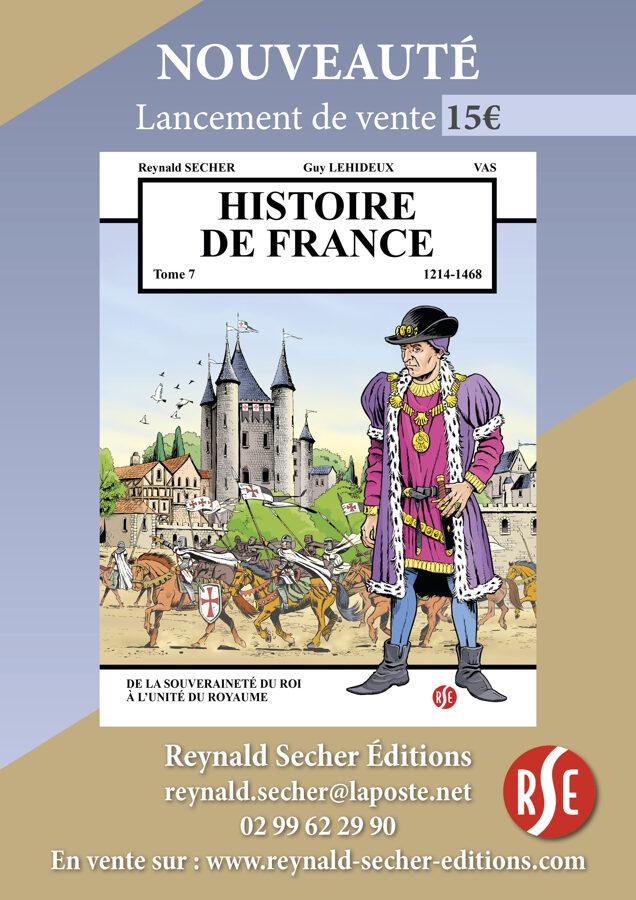 BD Reynald Secher Éditions